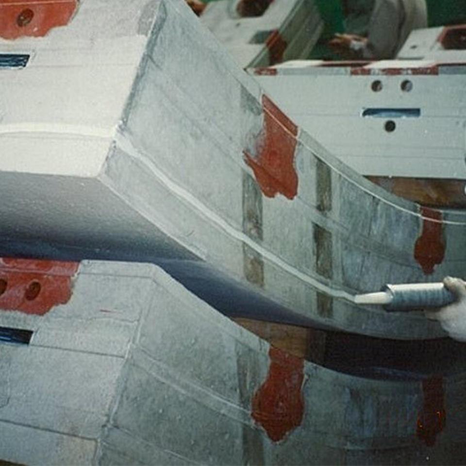 シール溝への塗布